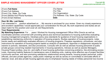 Control Room Compliance Officer Cover Letters