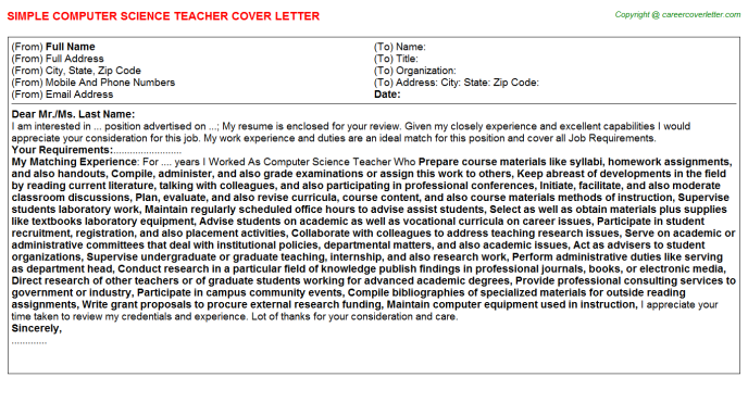 Cover Letter Computer Science from files.jobdescriptionsandduties.com