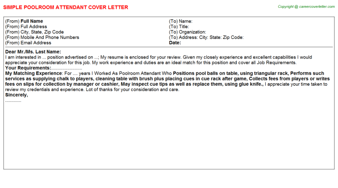 Recovery Room Nurse Cover Letters