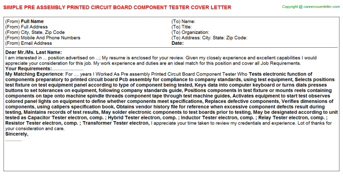 Agile Qa Tester Cover Letters Samples
