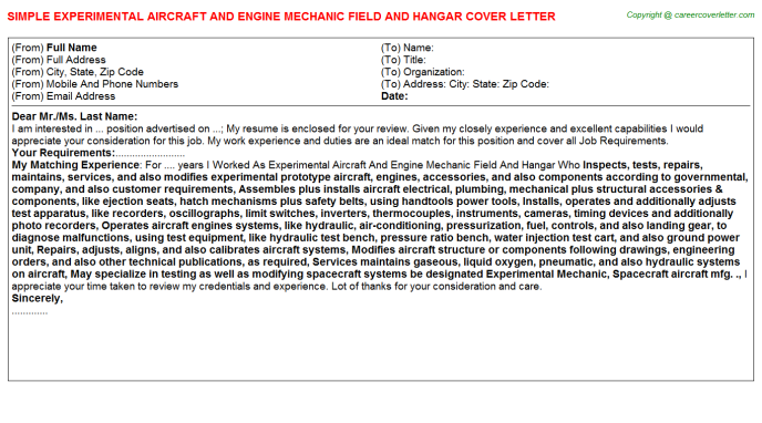 nga cover letters