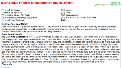 Freight Forwarding Rfq Cover Letters