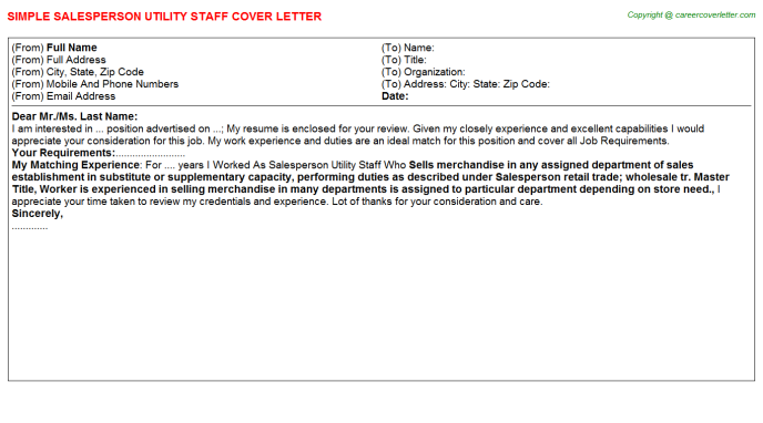 Ancillary Staff Job Templates