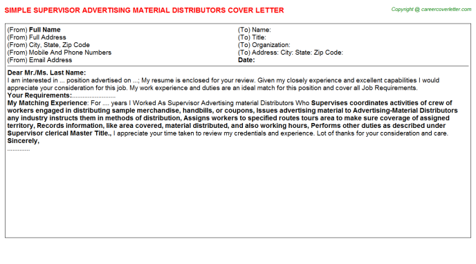 Mrp Controller Material Requirement Planning Cover Letters