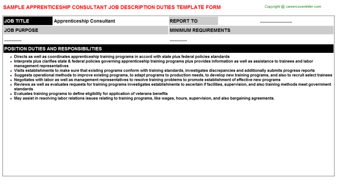 Apprentice Ironworker - Free Docs Templates Downloads