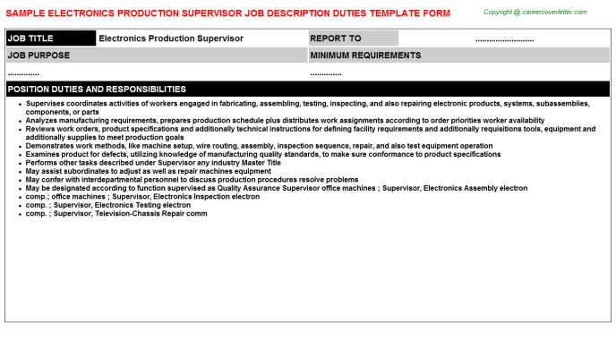 ppic production planning job descriptions