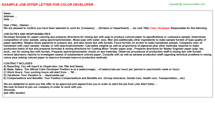 Atg Developer Job Templates
