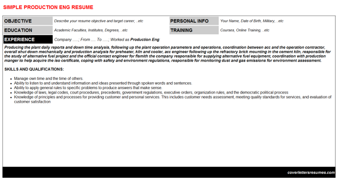 Production Eng Resume Template (#33469)